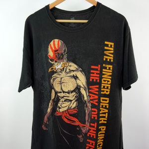 Five Finger Death Punch The Way of the Fist Tee